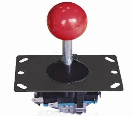 2 unids juego arcade joystick con microinterruptores gabinete panel de control a