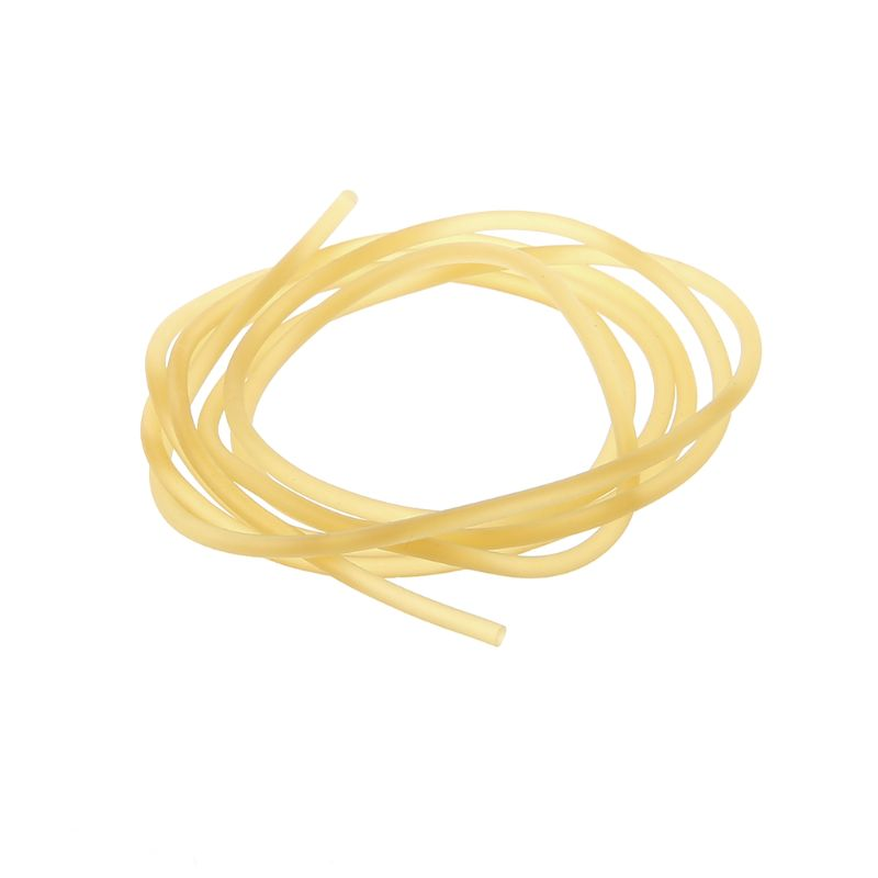 2mm Thick Solid Latex Line Latex Wire Tied Band Slingshot Tube Fittings 1m Length Rubber Bands