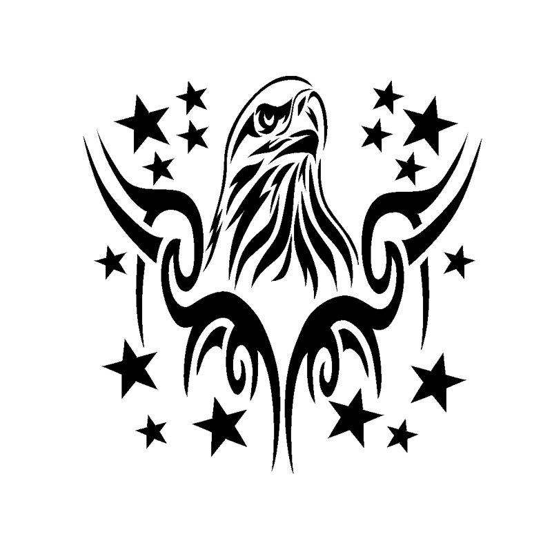 Eagle Tribal Decals Sticker BUY 2 GET 1 FREE Automatically