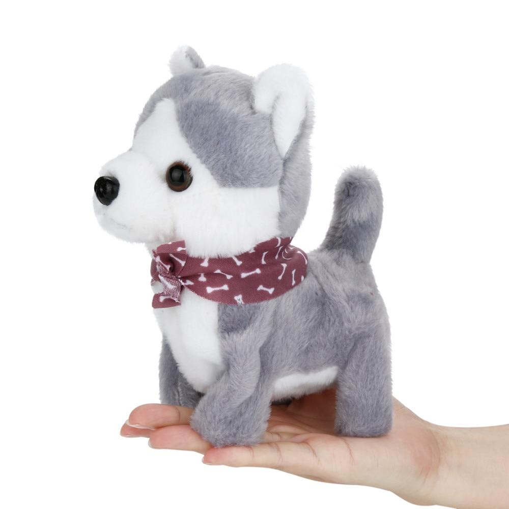 Talking toys Music Dog Walk Sing Wagging Tail Electric Plush Toys Amusing Music Dog Toy gifts A1