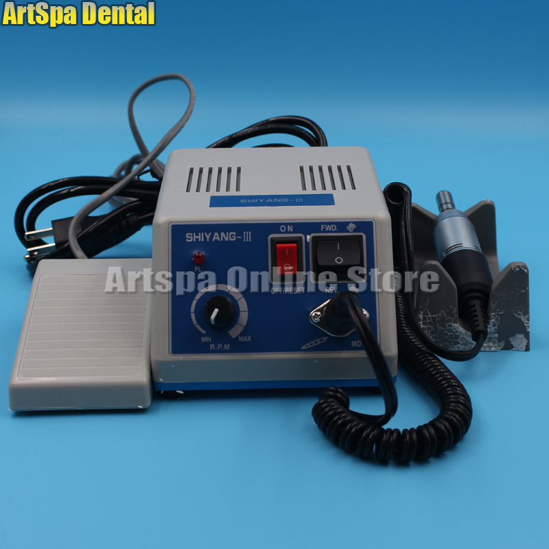 Dental SHIYANG-III Polishing Machine Lab Electric Micro Motor Polisher N3 jewelry polishing machine polisher