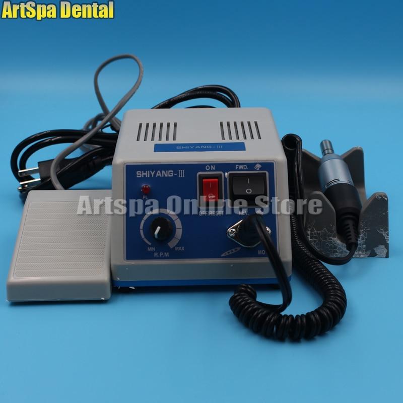 dental shiyang iii maquina de polimento laboratorio eletrico micro motor polidor n3
