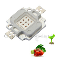 цены 10W red 660nm LED chip high power LED lamp Lamp Blub promote the growth of plants