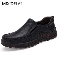 Big Size 38 48 Mens Dress Italian Leather Shoes Luxury Brand Mens Loafers Genuine Leather Formal
