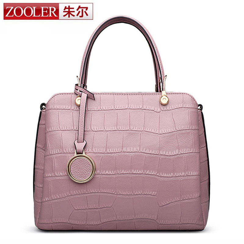ZOOLER Crossbody Bag for Women New Women Messenger Bag Crocodile Genuine Leather Shoulder Bag Handbag sac a main femme de marque zooler crossbody bags for women new ladies messenger bag crocodile genuine leather small shoulder bag sac a main femme de marque