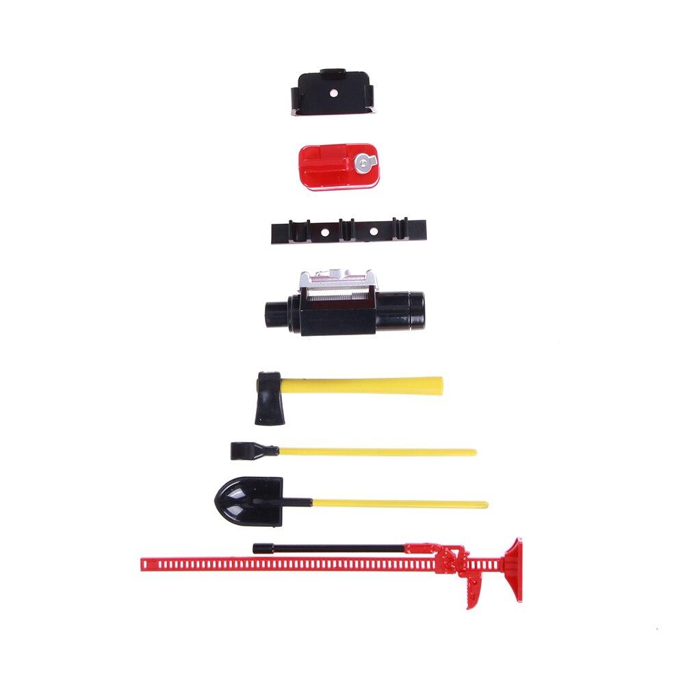6 шт./компл. 1/10 Весы RC Рок Гусеничный аксессуар набор инструментов для D90 SCX10 Морок красная игрушка RC Инструменты для авто-ремонта