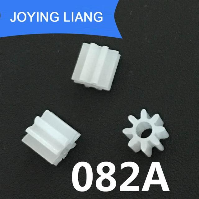 082a Module  Teeth 2mm Shaft Tight Pom Plastic Pinion Gear Toy Model Gear