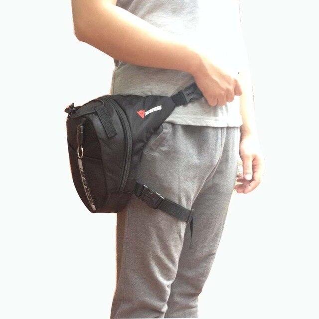 Estilo Caliente de calidad superior de Nylon impermeable bolsa de viaje ocasional bolso de la cintura motocicleta del paquete de fanny paquetes de la cintura para los hombres los hombres de la cintura bolsa de pierna
