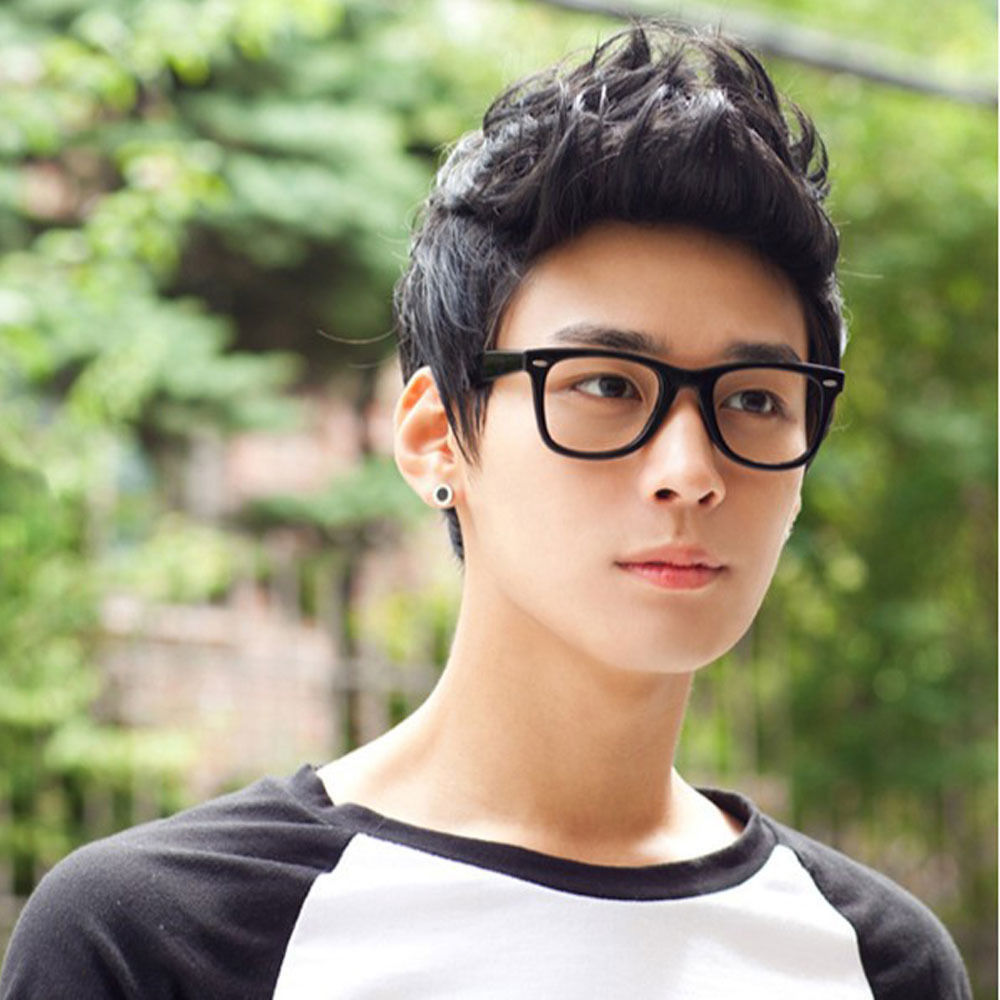 Mens Male Wig Handsome Vogue Sexy Korean Boys Short Hair Wigs-in ...
