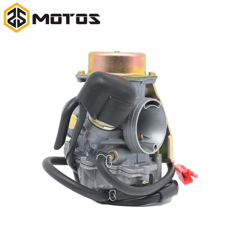 ZS MOTOS Motorcycle 26mm Carburador Carburetor Fit For cvk 26 CVK26 Replace Kehin For GY6 150cc~250cc Racing Scooter cvk26 nibbi 27 28 30mm pe27 28 30 round side carburetor fit to racing motor gy6 refires large caliber jog rsz cvk free shipping