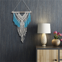 Large Beautiful Bohemian Tapestry Home Decorations Scandinavian Style Wall Art Hanging Crochet 100% Cotton Tapestry Macrame