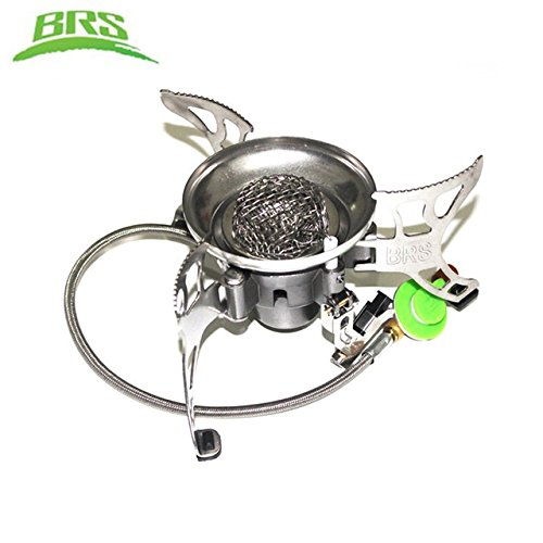 BRS Camping Gas Stove Ultralight Portable Collapsible Windproof Outdoor Gas Camp Stove Cookware for Picnic Camping Hiking brs-15 genuine leather women wallets crocodile 3d head fashion clutch purse wallet alligator pattern long wallet women carteira