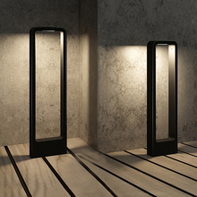 Thrisdar pilier lumineux pour lextérieur, luminaire de paysage, borne lumineuse pour une Villa, un parc, un Patio, un sentier, 10W LED