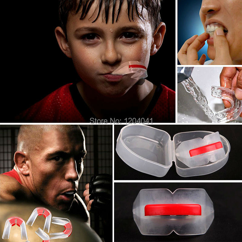 Hot Sale New Boxing Mouthguard Doubleteeth Guard Protection