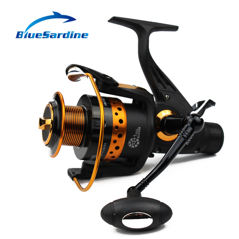 BlueSardine 13 + 1 BB 5.2: 1 Metal Spinning Fishing Reel Pesca - თევზაობა - ფოტო 1