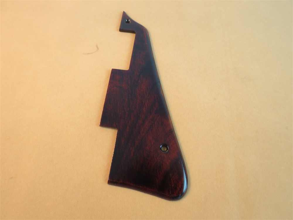 USA Spec Ailanthus wood  3 Ply LP Guitar Pickguard Scratch Plate Fits For Gibson Les Paul #3927