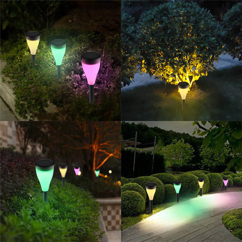 New Outdoor Solar Light Hanging Spike Lamp Multi Function For Night Garden Beach Landscape Patio Lawn In Lamps From Lights