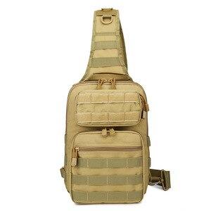 Image 5 - Chiến Thuật Túi Đeo Trước Ngực Túi Đeo Quân Đội Sling Lưng Ba Lô Camo Quân Sự Săn Bắn Túi Cắm Trại Đi Bộ Đường Dài Quân Mochila Molle Đeo Vai Gói