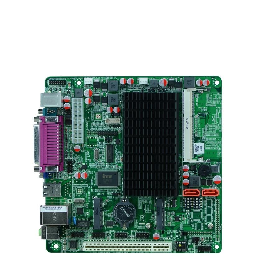 MINI ITX industrial embedded motherboard Intel N2800/1.86GHz dual core processor m945m2 945gm 479 motherboard 4com serial board cm1 2 g mini itx industrial motherboard 100