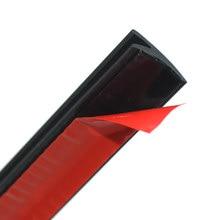 Janela do carro vedador weatherstrip v tipo tiras de vedação protetor de borracha tiras de vedação guarnição acessórios