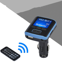 цена на Car Kit Bluetooth Handsfree FM Transmitter USB Charger LCD Display MP3 Player