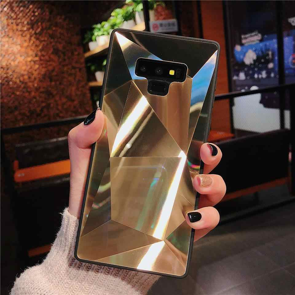 3D Bling TPU + PC Case for Samsung Note 9 8 S10 S9 S8 Plus A8 A7 A6 A9 J4 J6 2018 A20 A30 A50 A70 Cover Hard Diamond Phone Cases