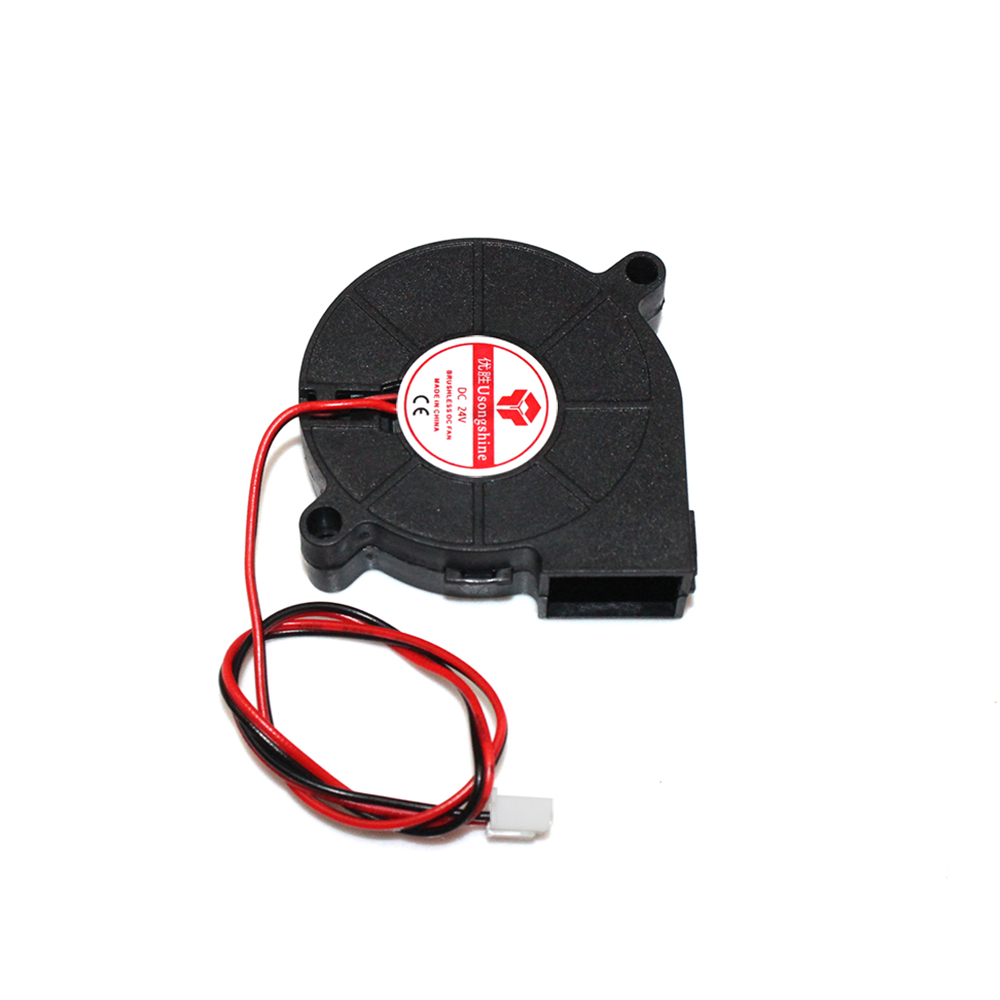 3D Printer Fan DC 5015 50X50x15mm 0.23A Sleeve-Bearing Blower for Reprap i3