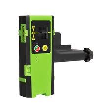 Лазерный приемник уровня Открытый приемник для красных и зеленых лазерных линий, подходит только для Huepar уровней