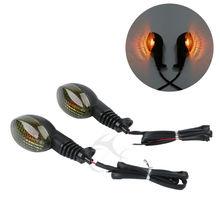 2 Pcs Bullet Turn Signal Light For Kawasaki EX250 Ninja 2008-12 KLX250SF VN650 Vulcan S