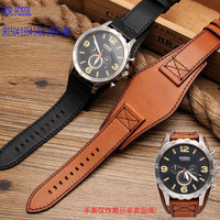 UYOUNG High quality leather watch with suitable f o s s i l JR1504 1354143614241487 watch band