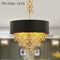 Nordic creative chandelier Italy minimalist fashion chandelier living room bedroom dining room study lamp