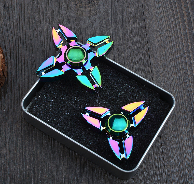 New colorful handspinner crab Fidgets Toy Fingertip Hand Spinner EDC Sensory Fidget Spinner For Autism ADHD