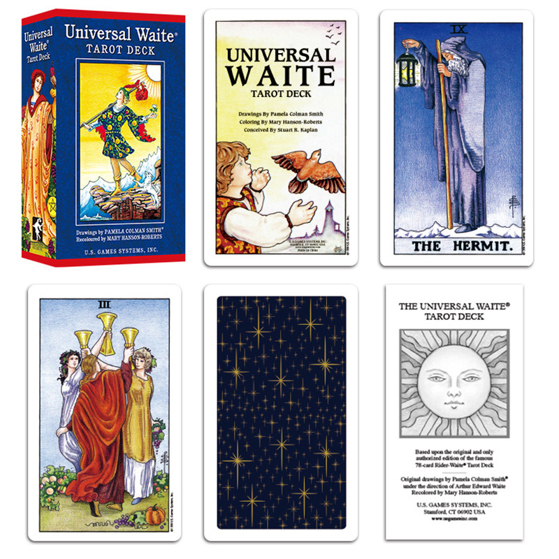 Universal Edition Tarot Deck Board Game Cards Game Full English Edition Tarot Board Game For Family/Friends