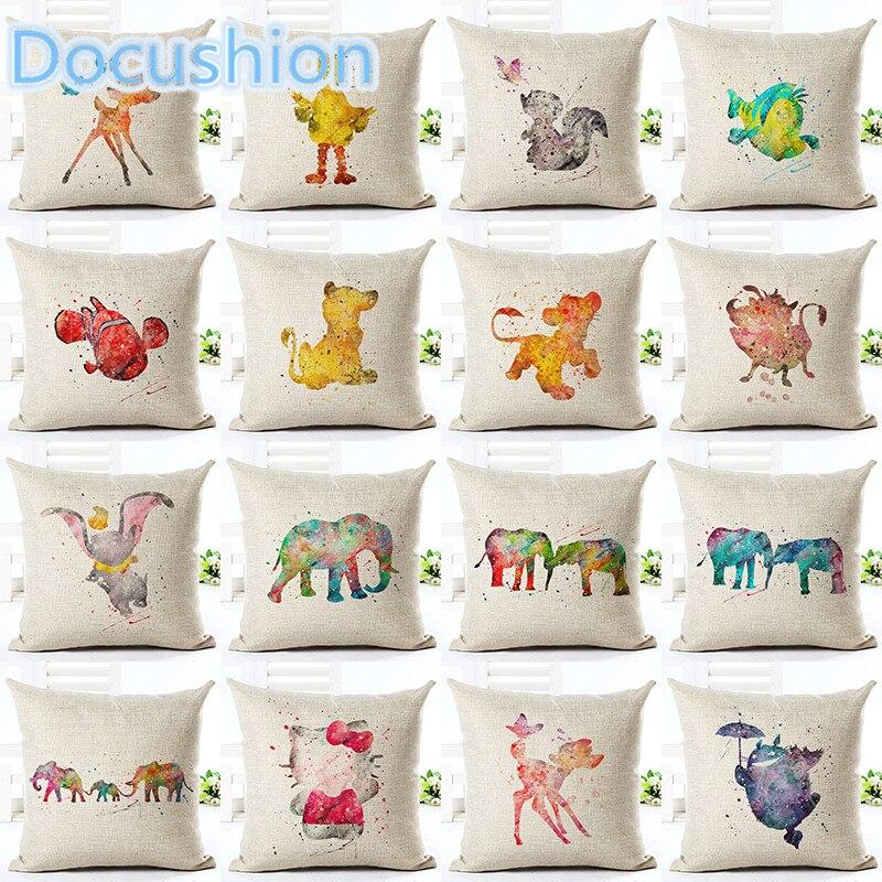 ᗖEstilo de dibujos animados moda decorativos Fundas de colchón ...