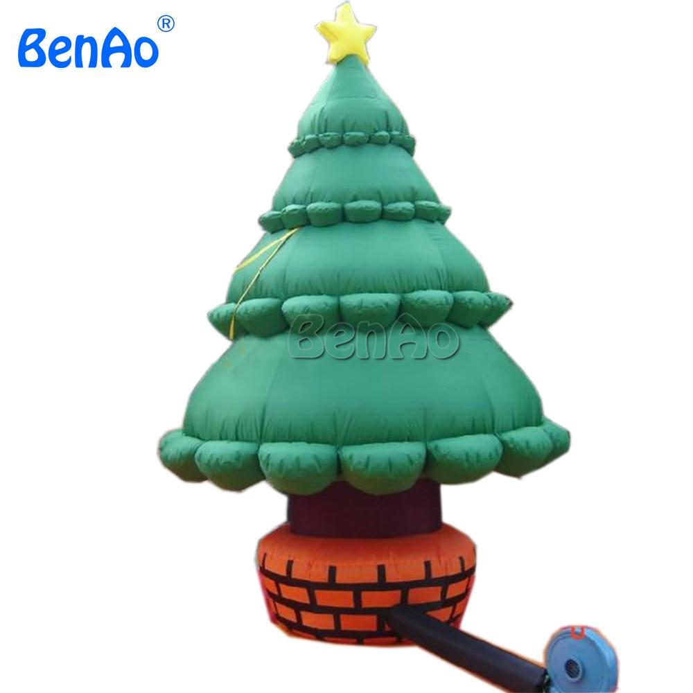 X103 BENAO  Free shipping  Inflatable Christmas tree ,inflatable outdoor christmas decoration inflatable cartoon customized advertising giant christmas inflatable santa claus for christmas outdoor decoration