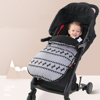 Warmer Baby Stroller Sleeping Bag Winter Thicken Waterproof Envelope Infant Sleepsack Antifreeze Baby Insulate Buggy Wrap