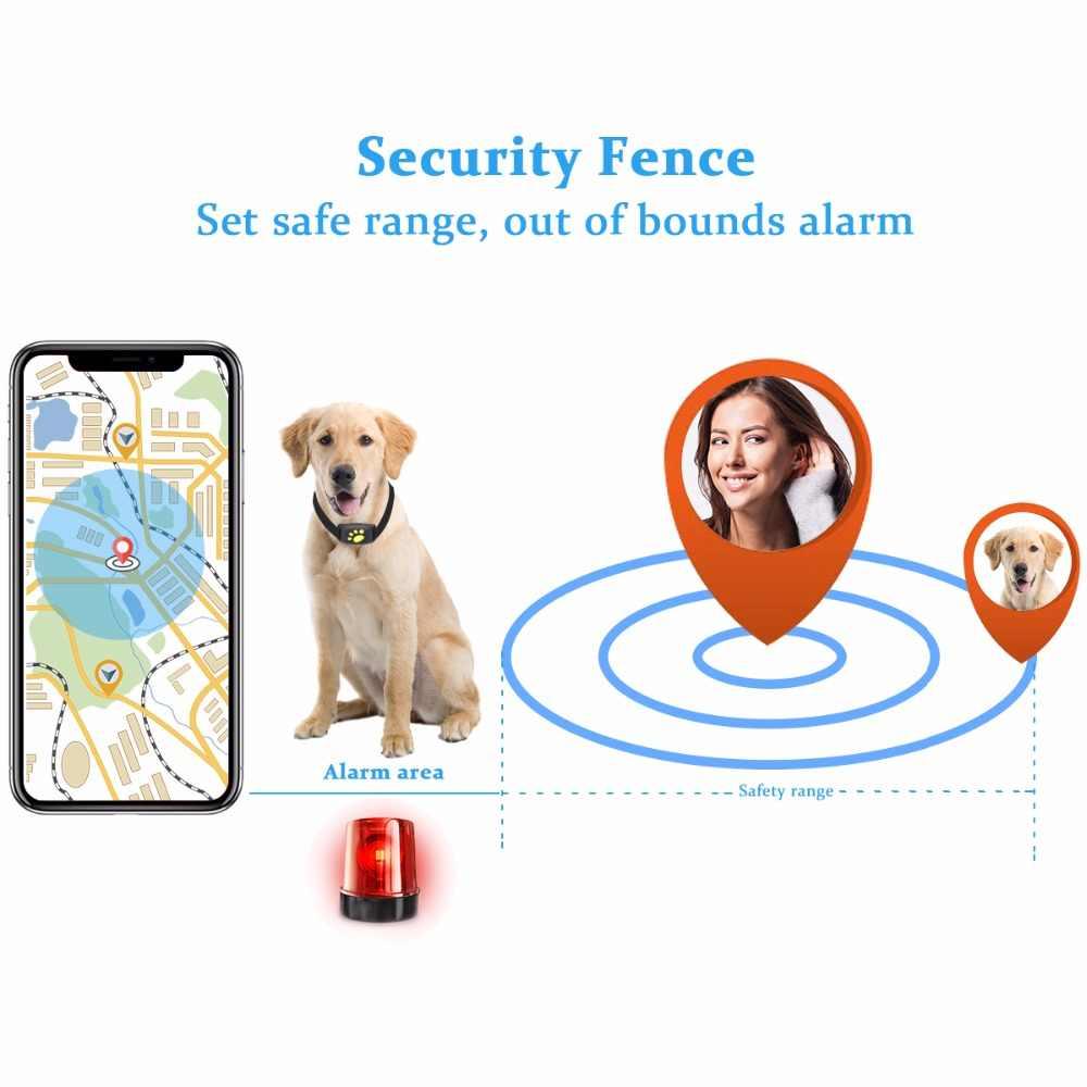 สัตว์เลี้ยงสุนัข GPS Tracker ปลอกคอสุนัขแมวปลอกคอ GPS Z8-A-pet Tracker GPS กันน้ำสาย USB ชาร์จสุนัขสัตว์เลี้ยงรั้ว