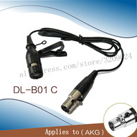 LEORY Mini Microphone Lavalier Tie Clip Microphones Microfono Mic For A K G Speaking Speech Lectures 1.2m Long Cable