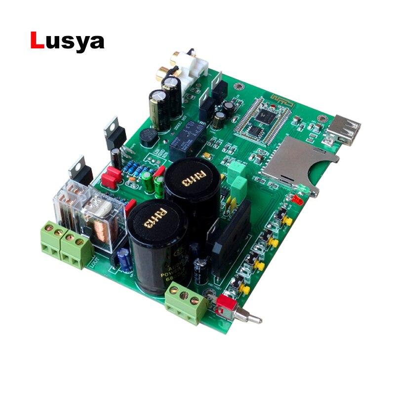 LM1875 carte amplificateur de puissance audio Bluetooth 4.2 ES9023 carte de décodage DAC 30 W + 30 W T0396