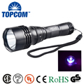 390-395nm 10w UV Waterproof Flashlight LED ip68 High Quality Aluminum Alloy LED Diving Flashlight