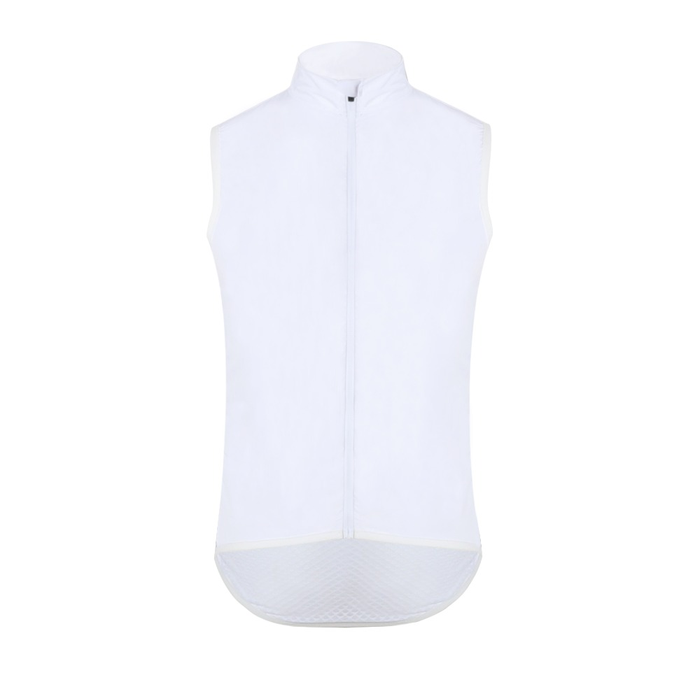 цены SPEXCEL2018 ALL WHITE PRO TEAM CYCLING WINDPROOF GILET VEST LIGHTWEIGHT cycling vest mesh fabric at back Ropa Ciclismo