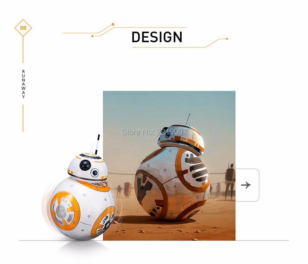 Star Wars Remote Control BB-8 Robot 20.5cm 7