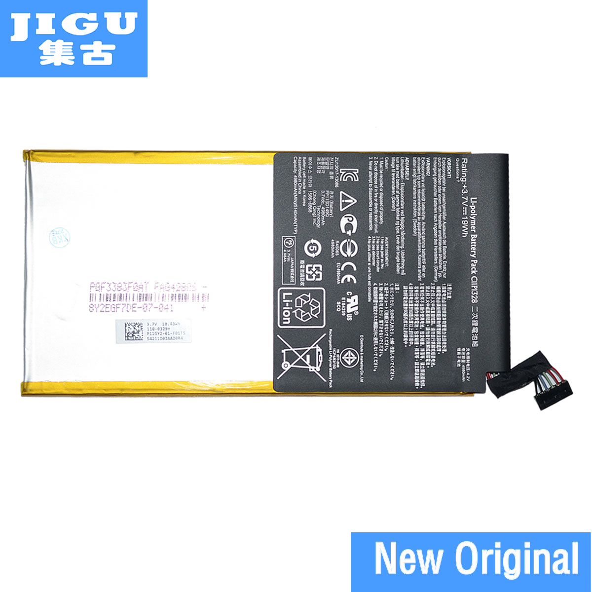 JIGU original Battery C11P1328 for ASUS for Pad Transformer Pad TF103CG TF103CX TF103C jigu original new 66wh 15v c41n1337 battery for asus portable aio pt2001 19 5 inch batteria batteries high quality