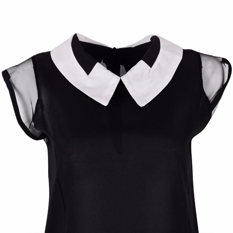 HTB1fNrvKXXXXXaPapXXq6xXFXXXV - Women Summer Loose Chiffon OL Blouse Shirt