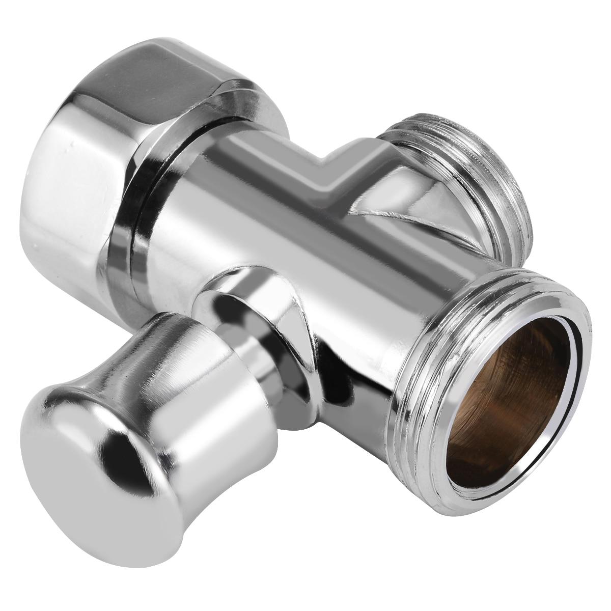 3 Way Bathroom Toilet Bidet 3/4'' & 1/2'' BSP T-adapter Shower Diverter Valve Shower Head For Toilet Bidet Shower Bathroom Tool bathroom shower page 1