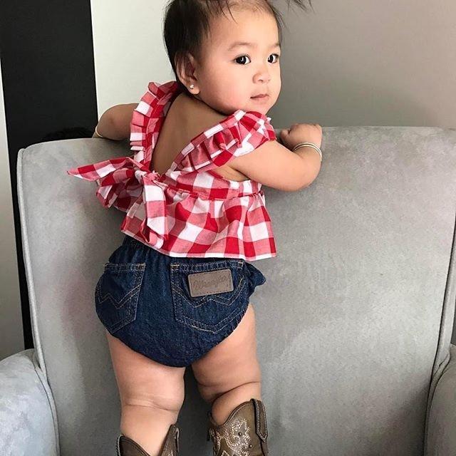 3febbe7c1 Αγορά Κορίτσια ' Βρεφικά ρούχα | 2019 Summer baby girl clothes set ...