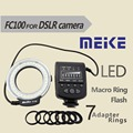 Meike-FC100 Macro LED Ring Flash Macro Light for Canon Nikon Pentax Olympus Digital Camera