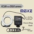Meike-fc100 macro anel led flash light macro para canon nikon pentax olympus câmera digital
