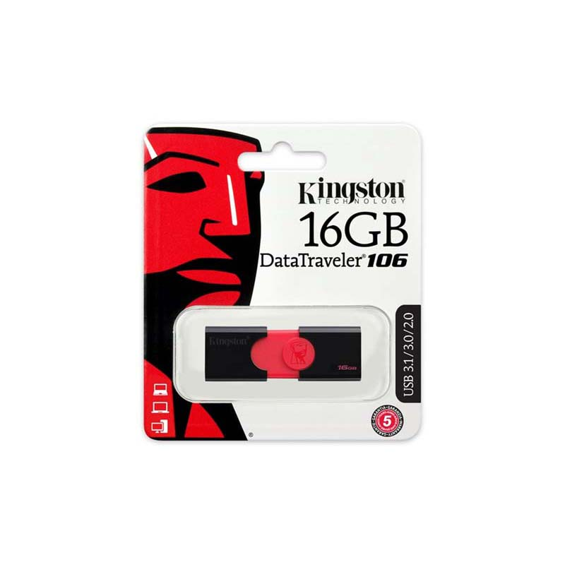 Kingston DT106 usb 16GB computer usb flash drive pull-type pendrive 3.0 can be encrypted office file encryption usb stick u disk