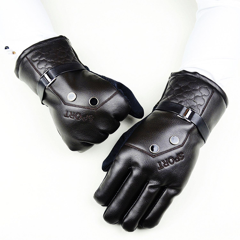 Hombre Gel antideslizante Esquí snowboard guantes térmicos Masculinos guantes de